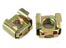 Cage Nuts, Steel, ZP