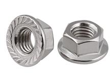 DIN 6923 Stainless Steel Flange Nut