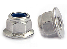 DIN 6926 Hex Flange Nylon Insert Lock Nut