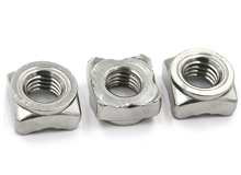 DIN 928 Square Weld Nut, A2-70