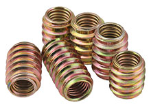 Zinc Alloy Threaded Insert Nut for Wood